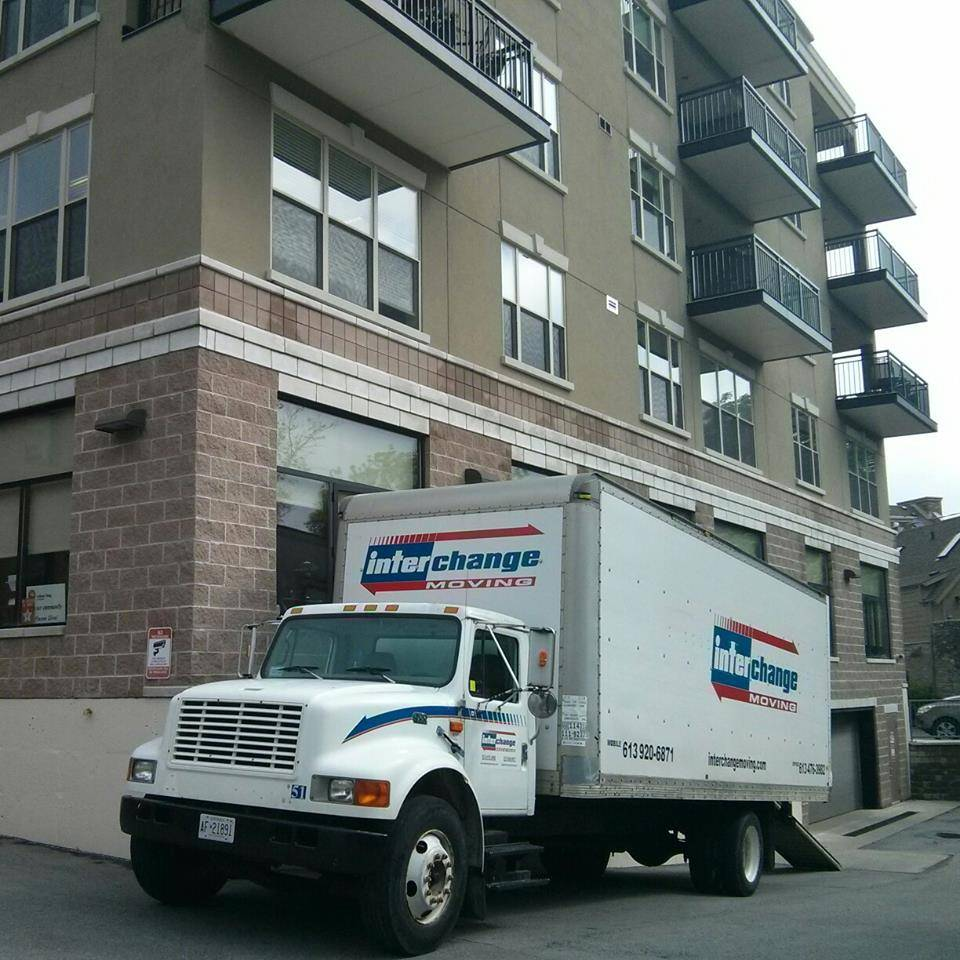 At the Prince Edward moving another happy customer