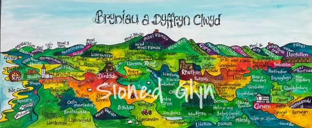Bryniau a Dyffryn Clwyd