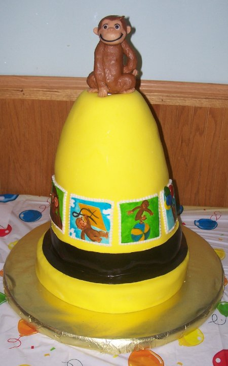 Curious George on Yellow Hat