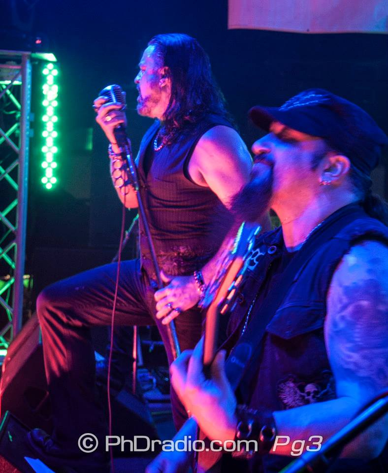 with Adrenaline Mob and Mike Orlando Music at Main Street Station