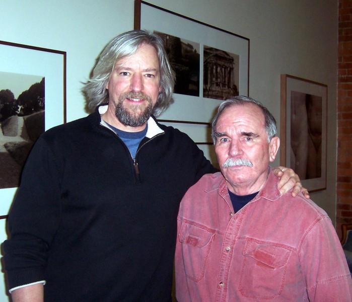 Buddy and Jim at Valley Folk