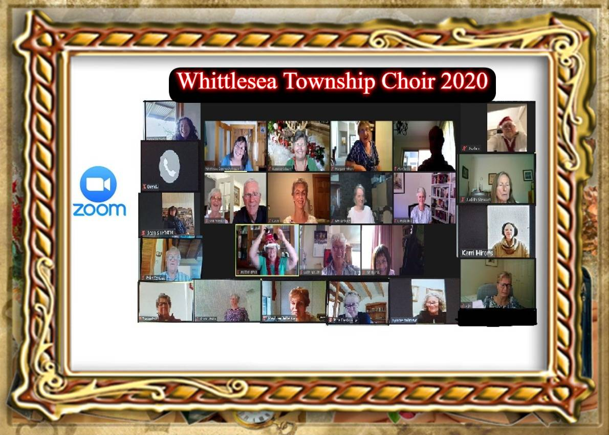 Covid-19 World Pandemic and our Choir met on Zoom from 30 March 2020