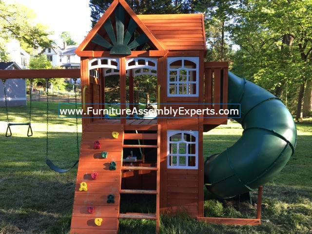 swing set installation service in forestville MD