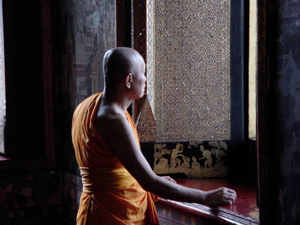 Monk moment