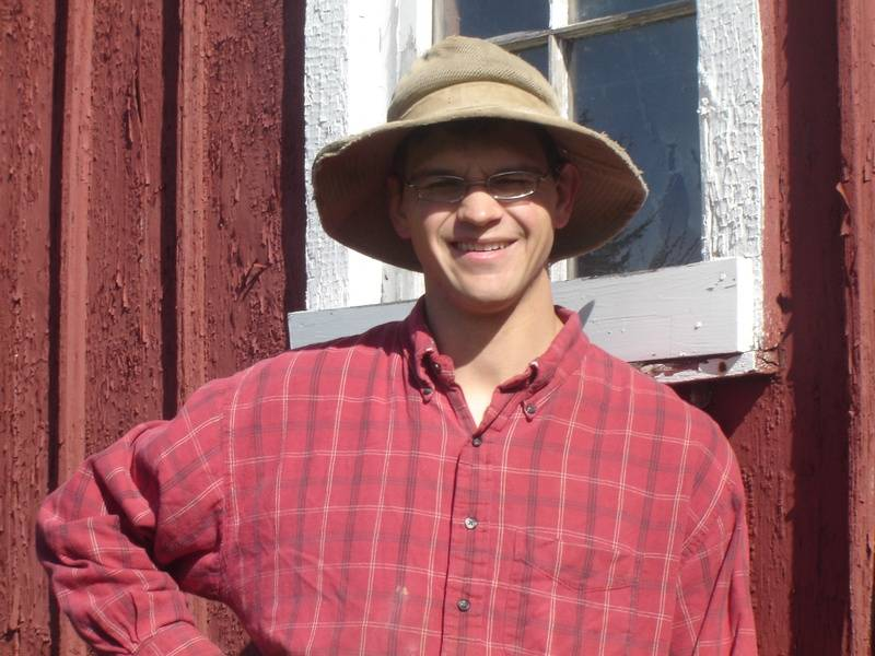 Our Farmer Galen Bontrager ;-)