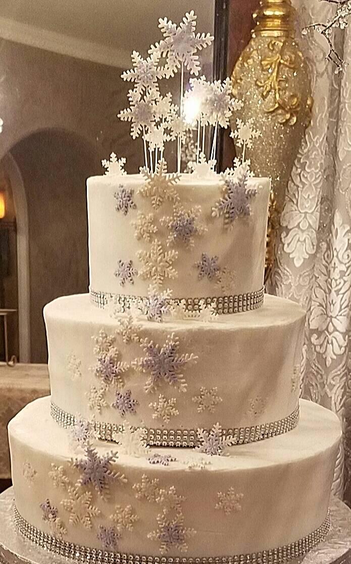 Winter Wonderland White and Lavender
