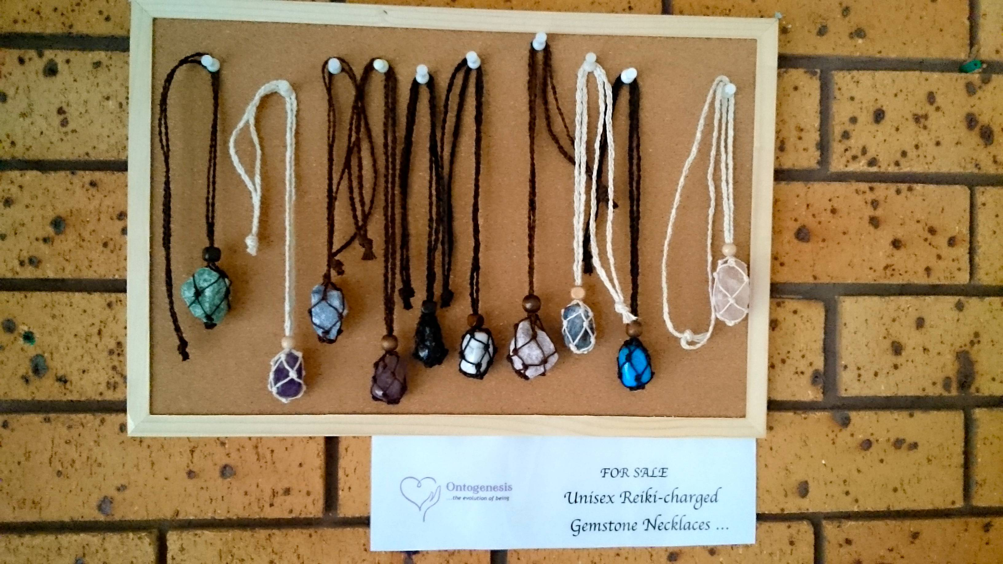 Reiki Charged Gemstone Necklaces ...