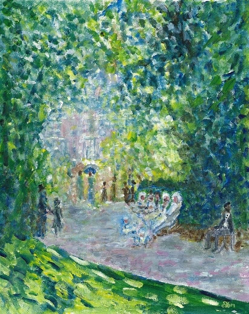 Parc Monceau by Monet - Paris, France