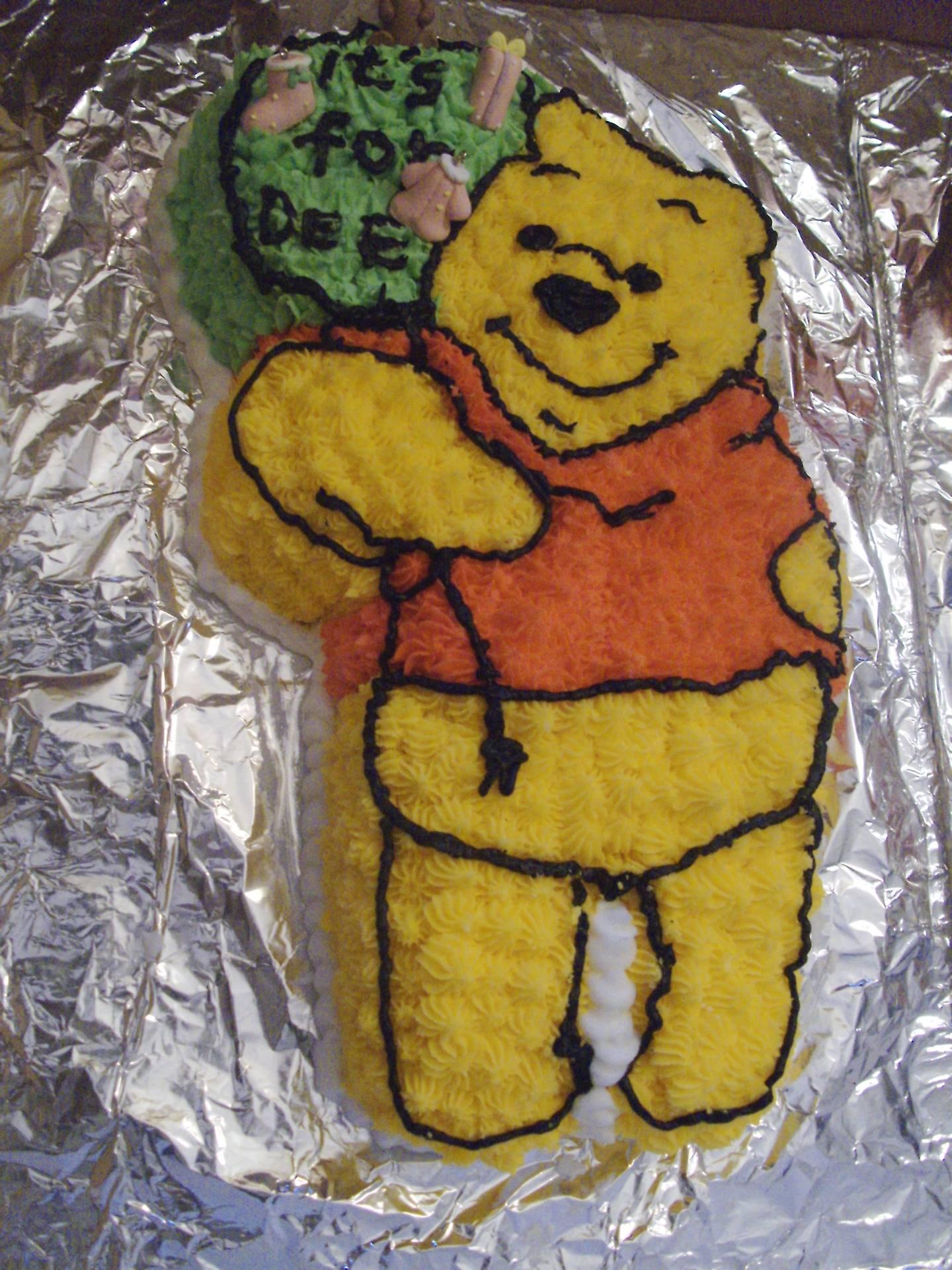 A Winnie Pooh Cake