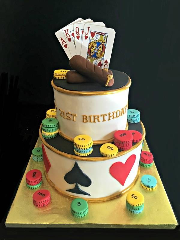 A Casino themed 21st birthday