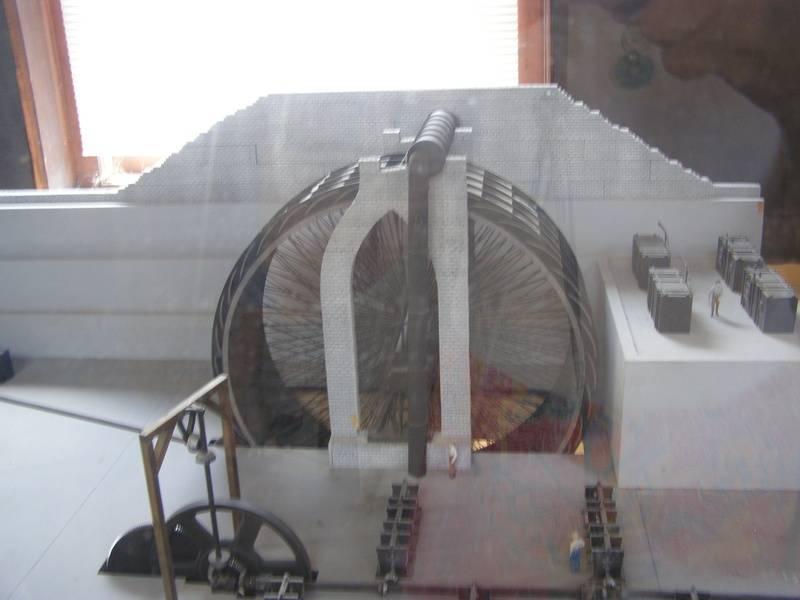 Waterwheel used in Iron production