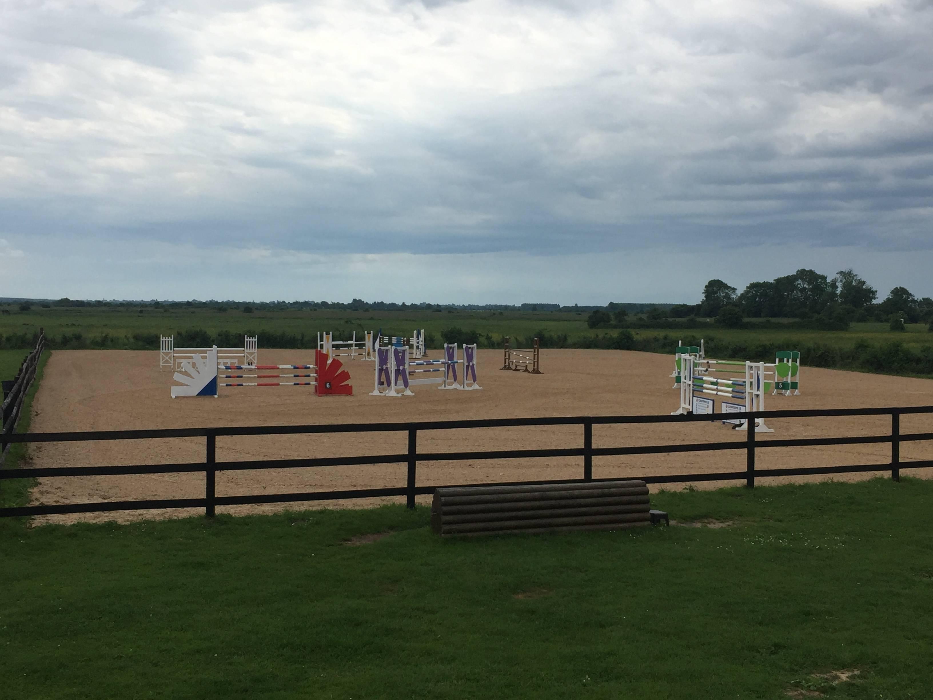 Carrière de compétition Pole equestre Cabourg