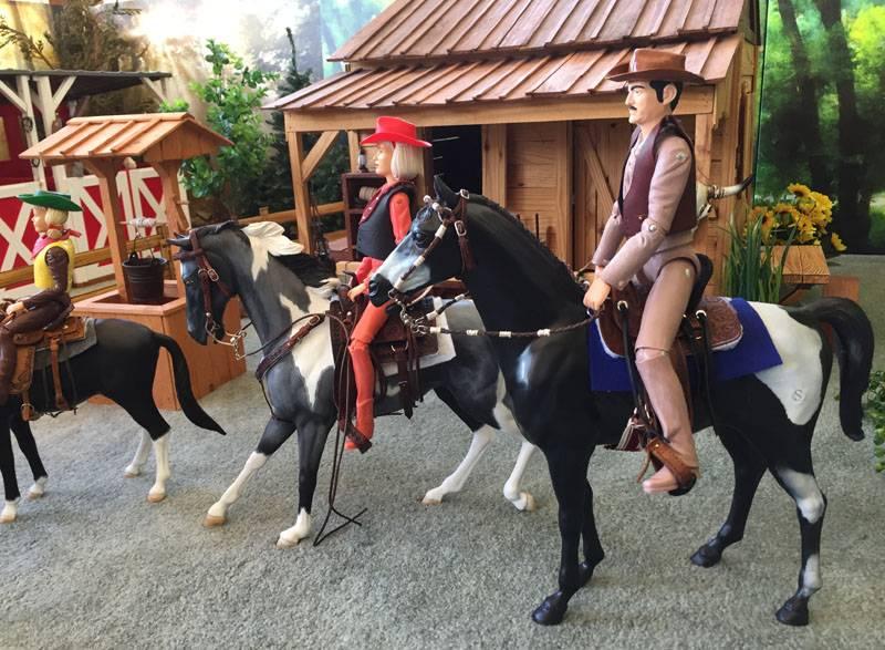 saddle set 43 by me