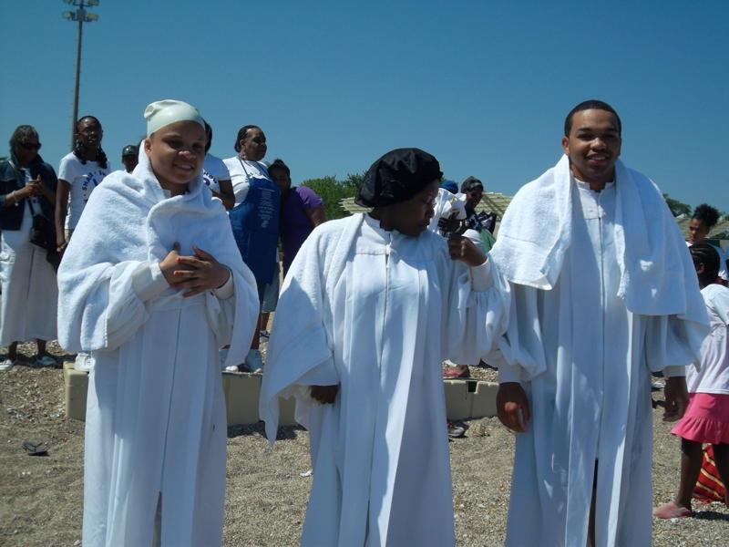 Beach Baptism 2011