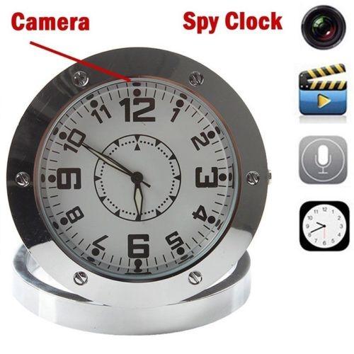 Spy Table Clock