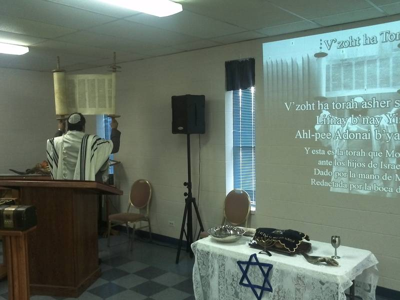rito de V'zot ha Torah