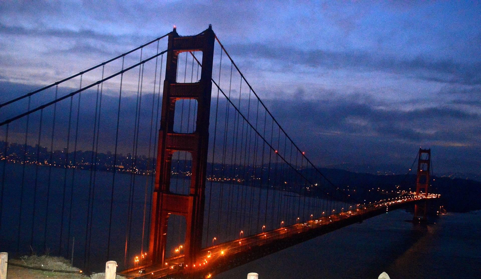 Sunrise on the Golden Gate