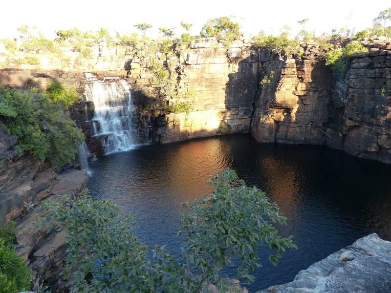 Base camp waterfall