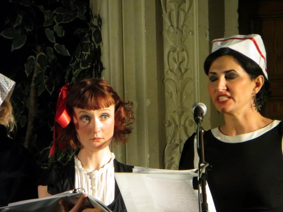 Helen T. Clark and Eliza VanCort