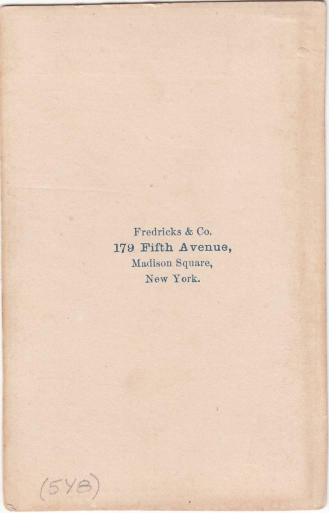 Fredricks & Co. of New York, NY