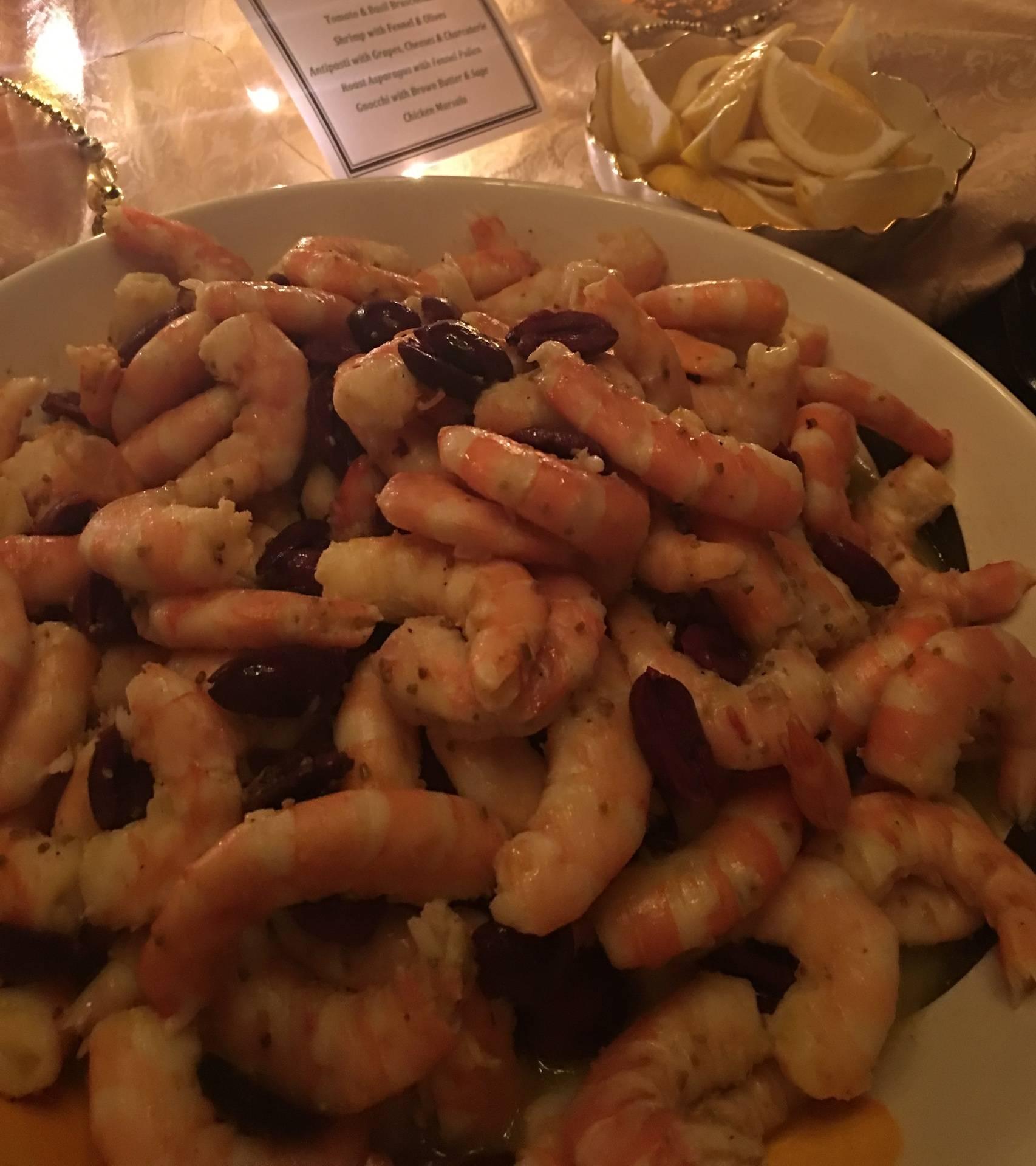 Shrimp with Fennel & Lemon