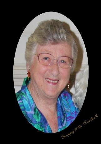 Heather Rae 80th birthday