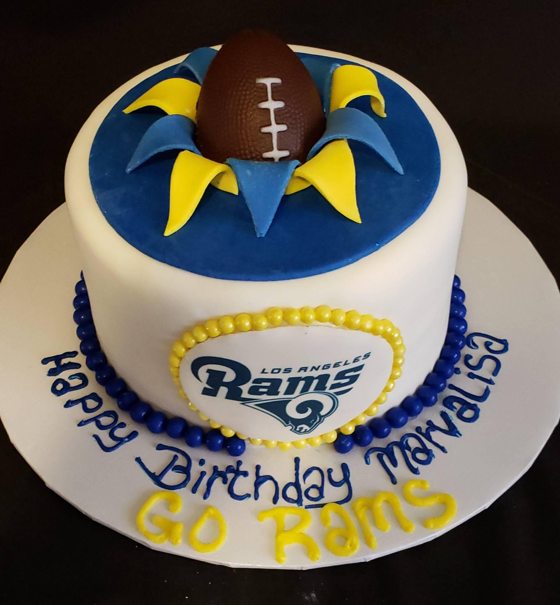 Los Angeles Rams Cake