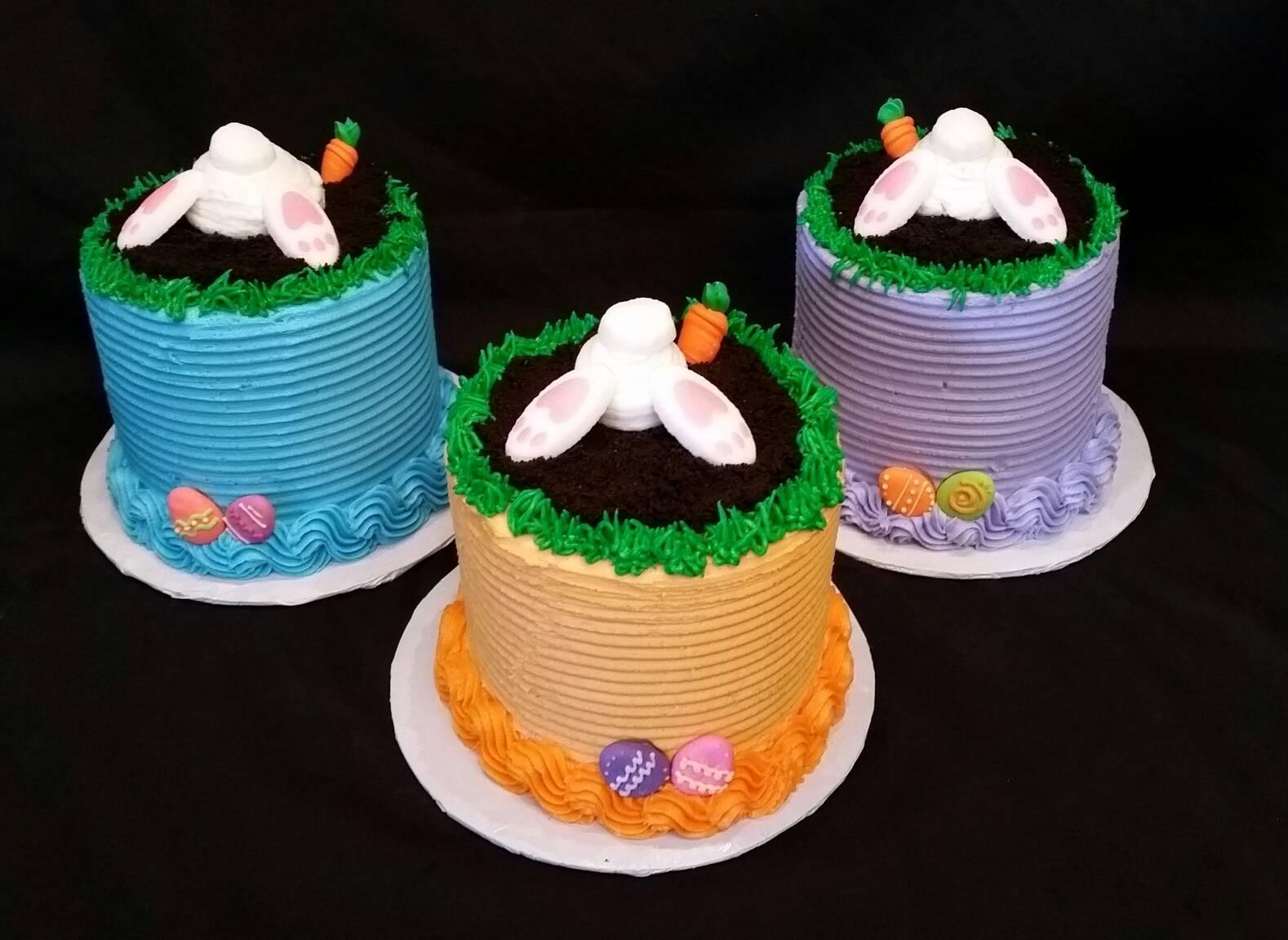 Bunny Butt Cakes