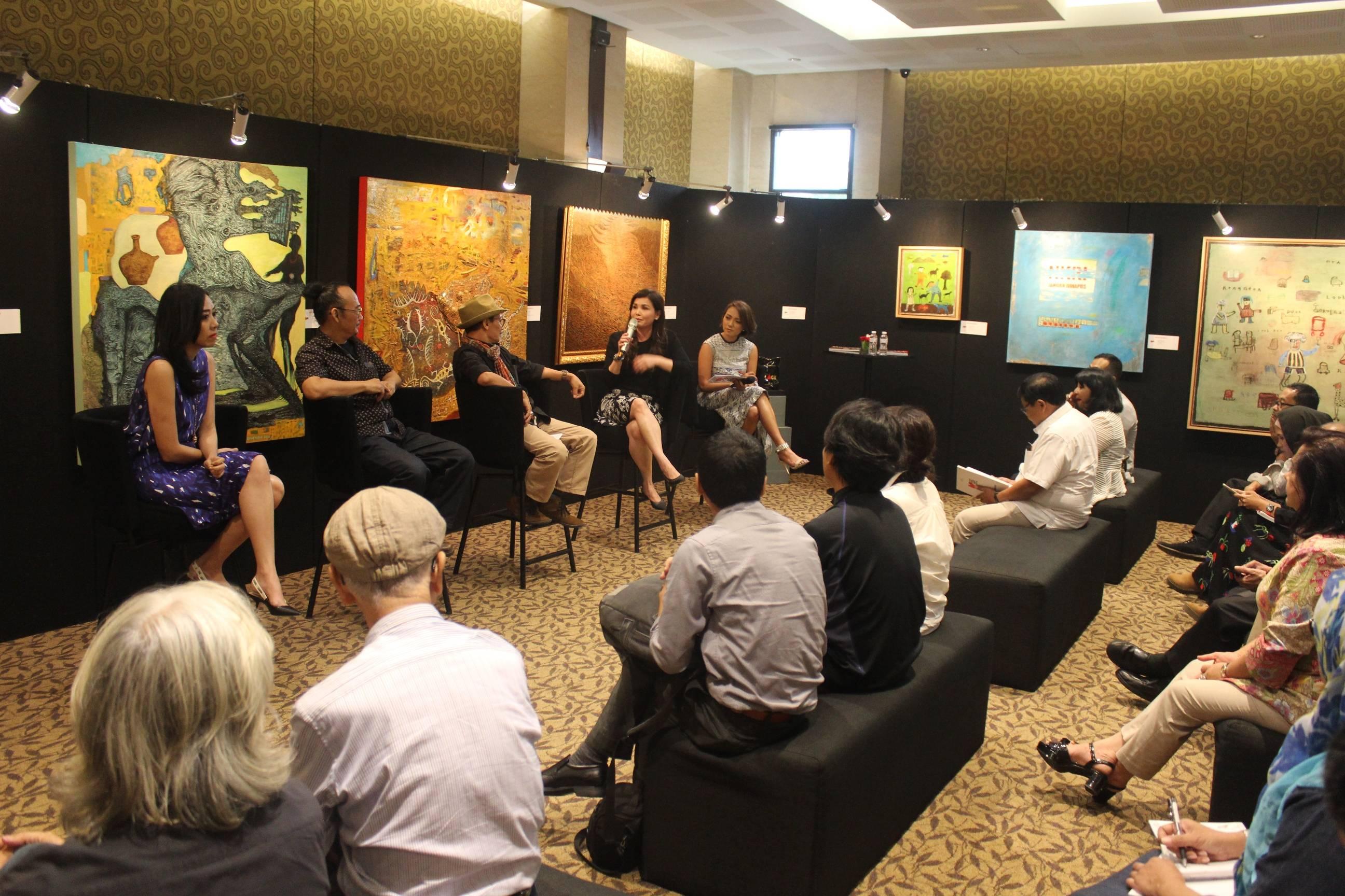 Menjadi Indonesia,pameran seni rupa