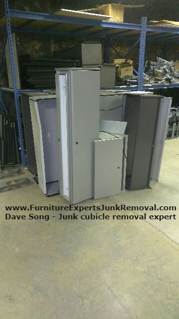 Junk office cubicle removal in annapolis MD