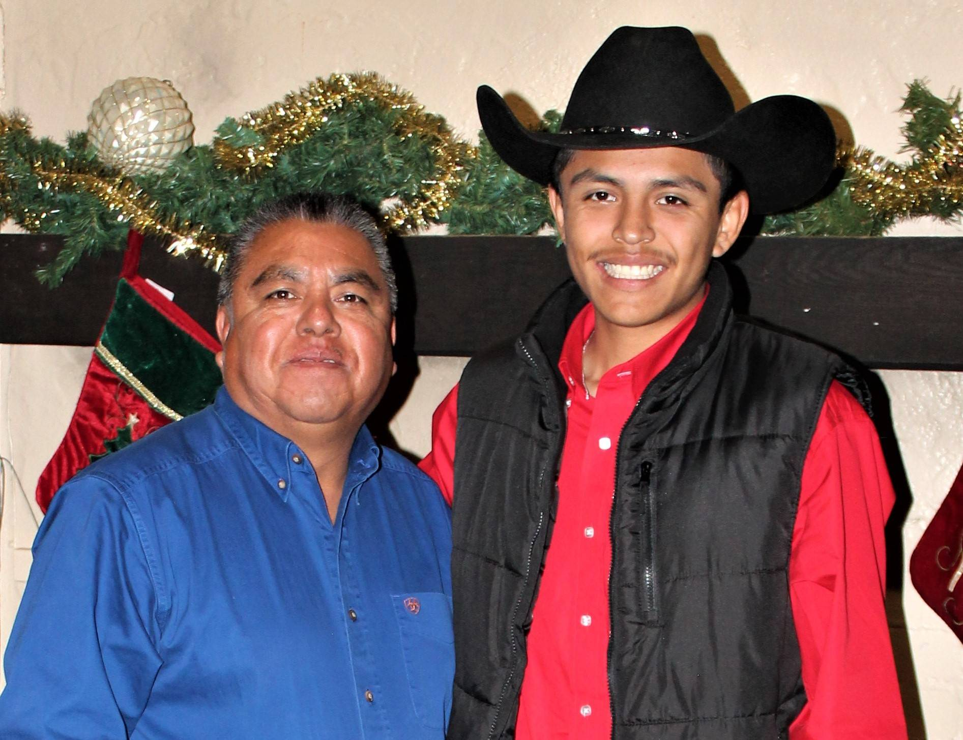 Andres and his father