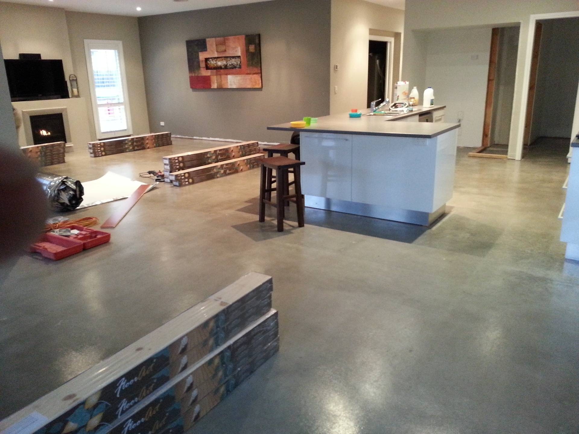 Kitchen & Dining-Before