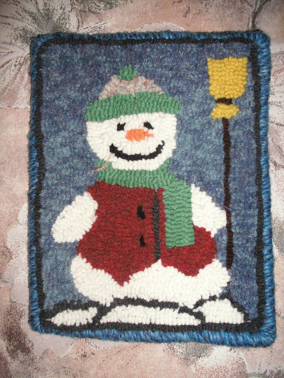 6 hour Beginner Snowman Mat