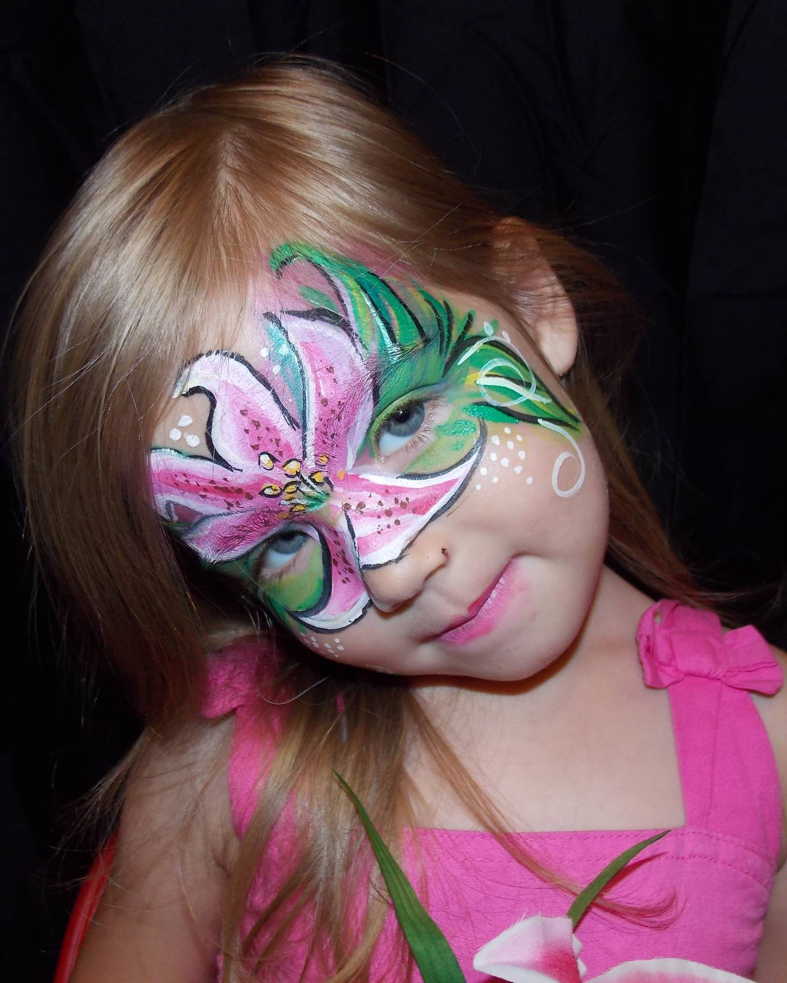 Lilly's Lily Face Painting