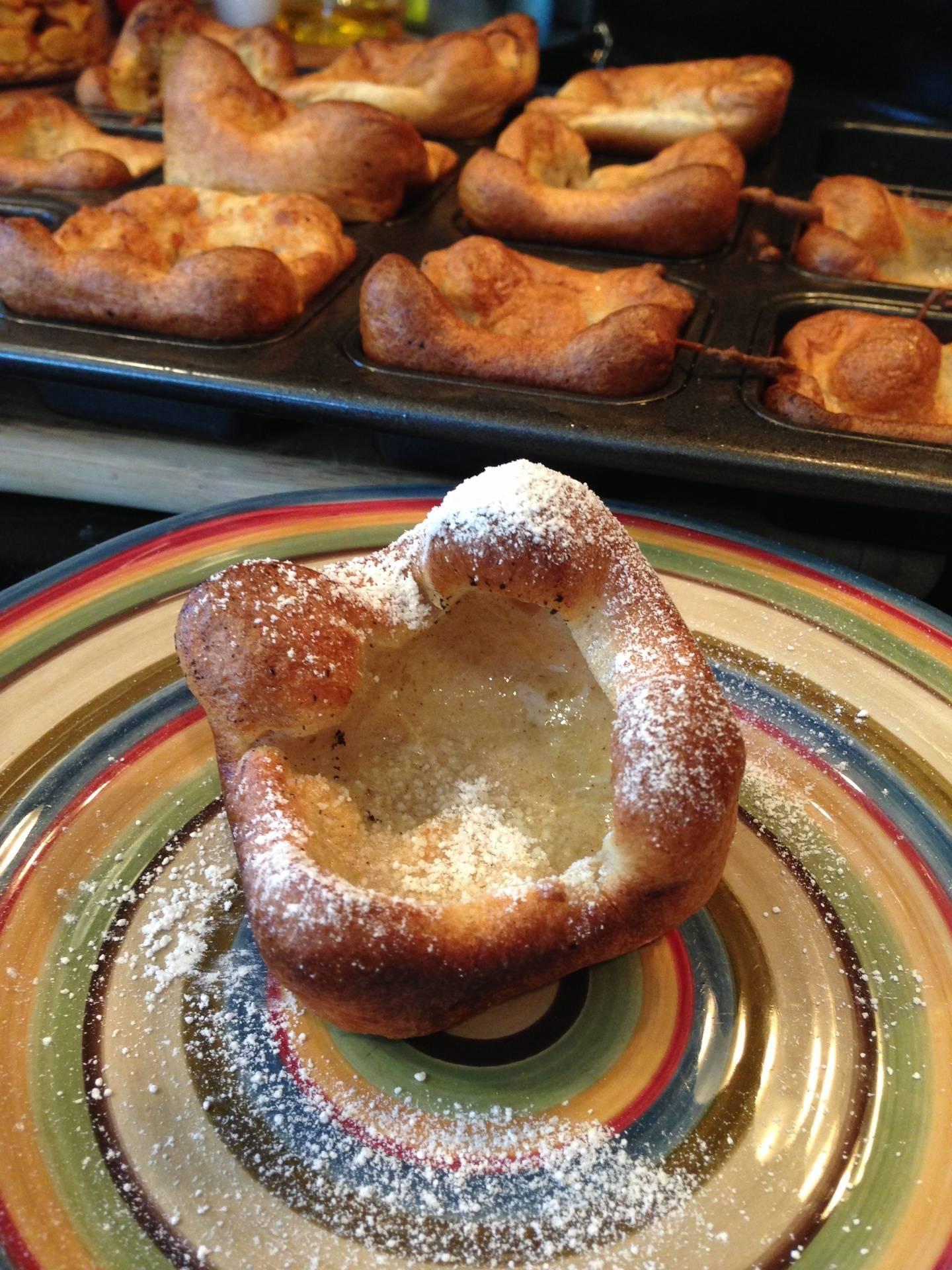 GF German Baked Pancakes