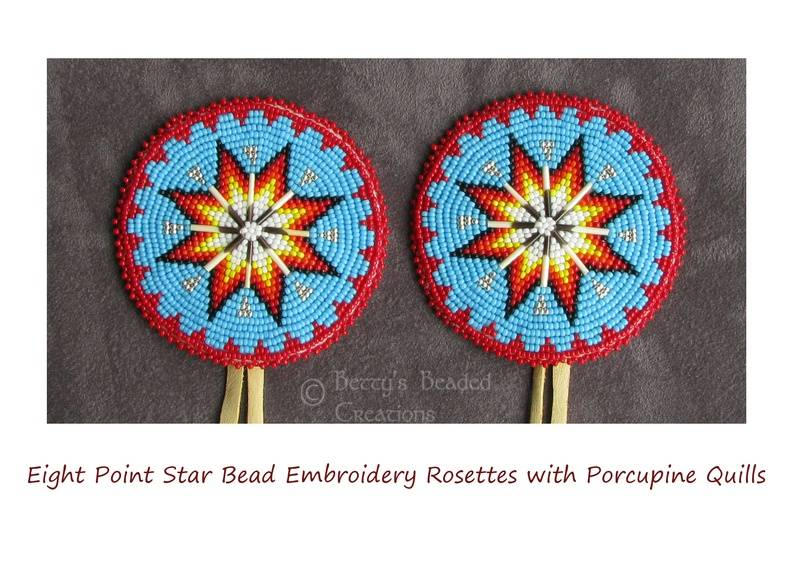 Jerrys Bead Embroidery Medallions