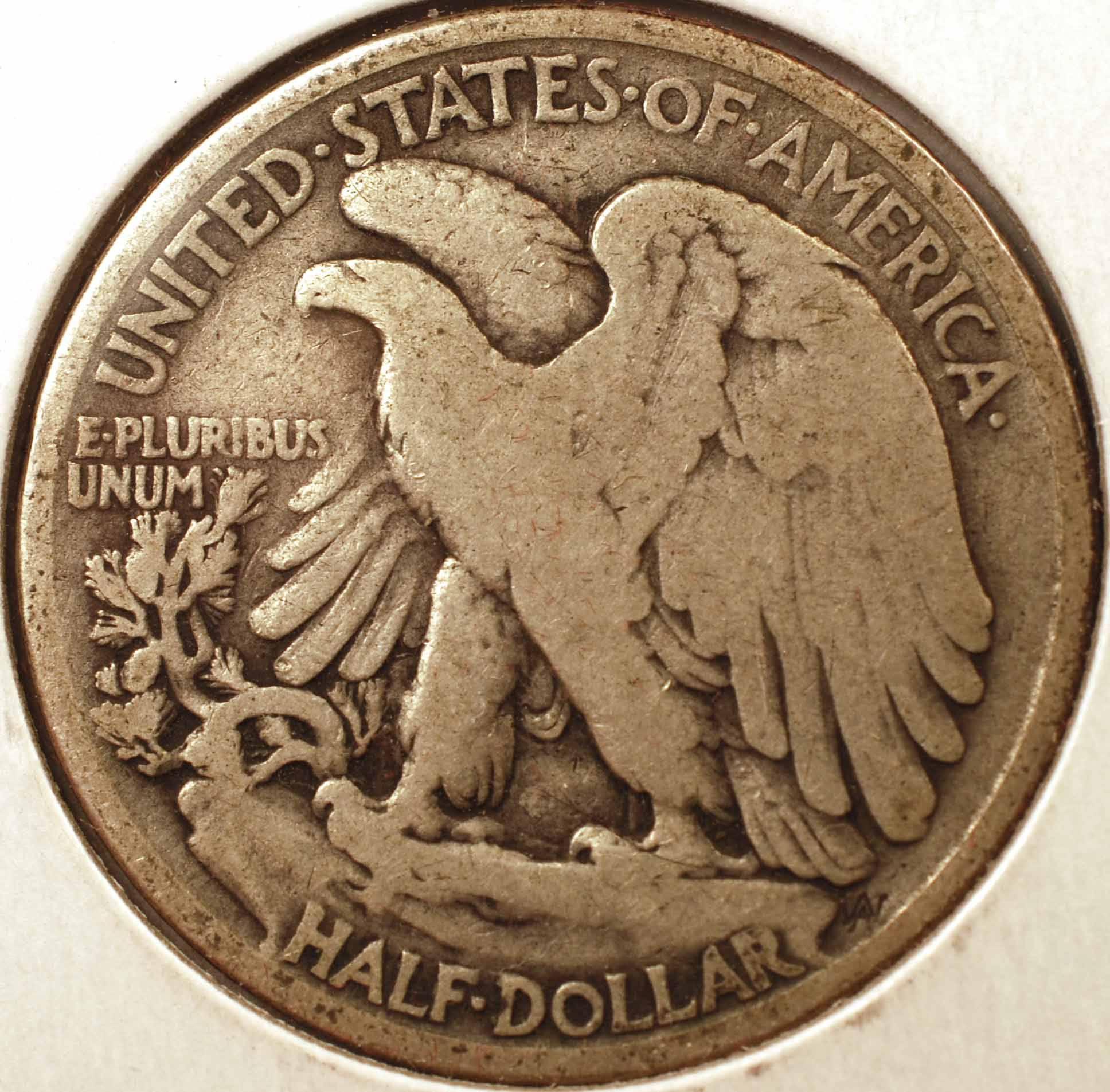 1916 Walking Liberty Half DollarVG Reverse