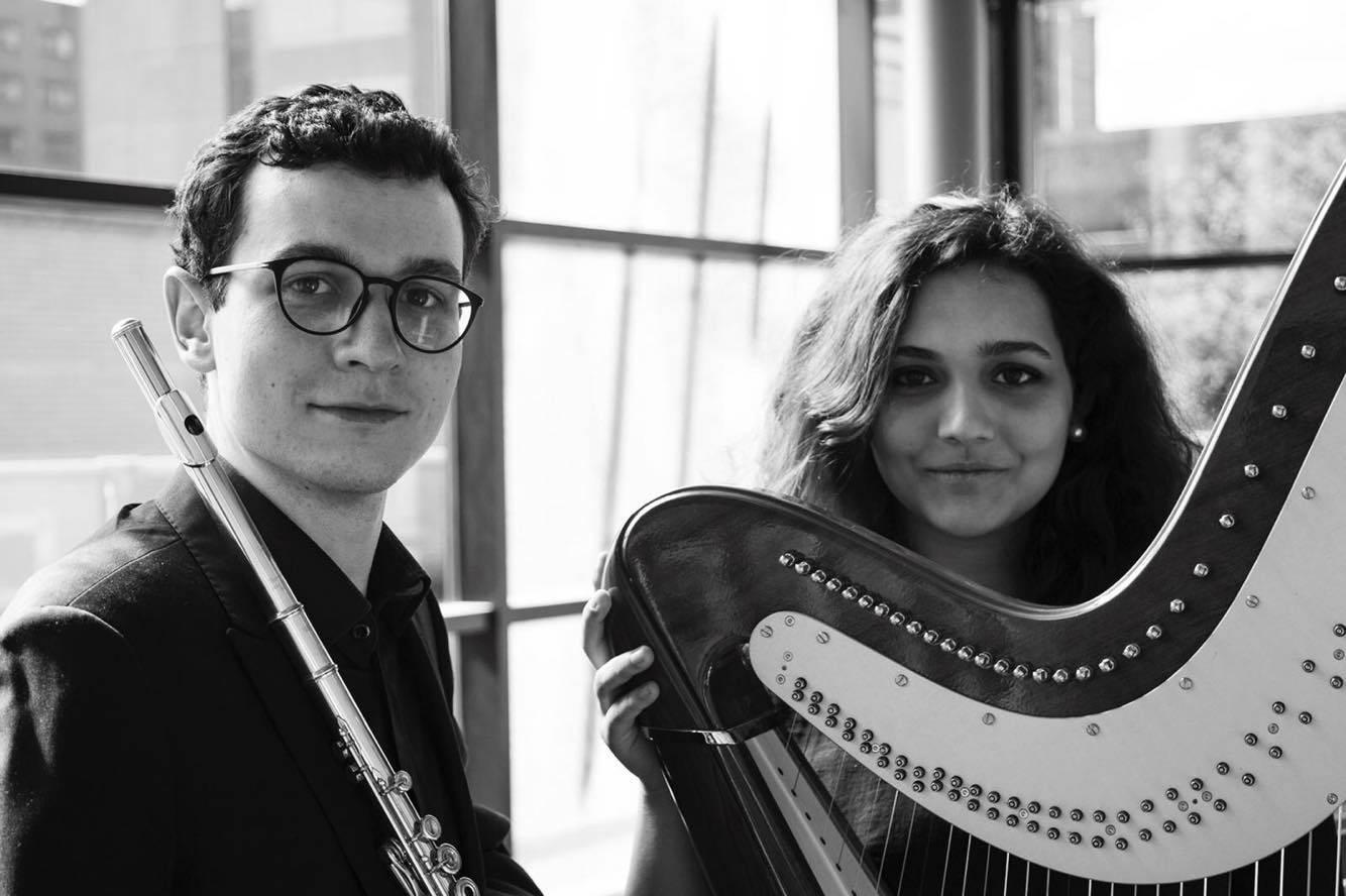 Teresa Romao, Harp and Konrad Fiszer, Flute