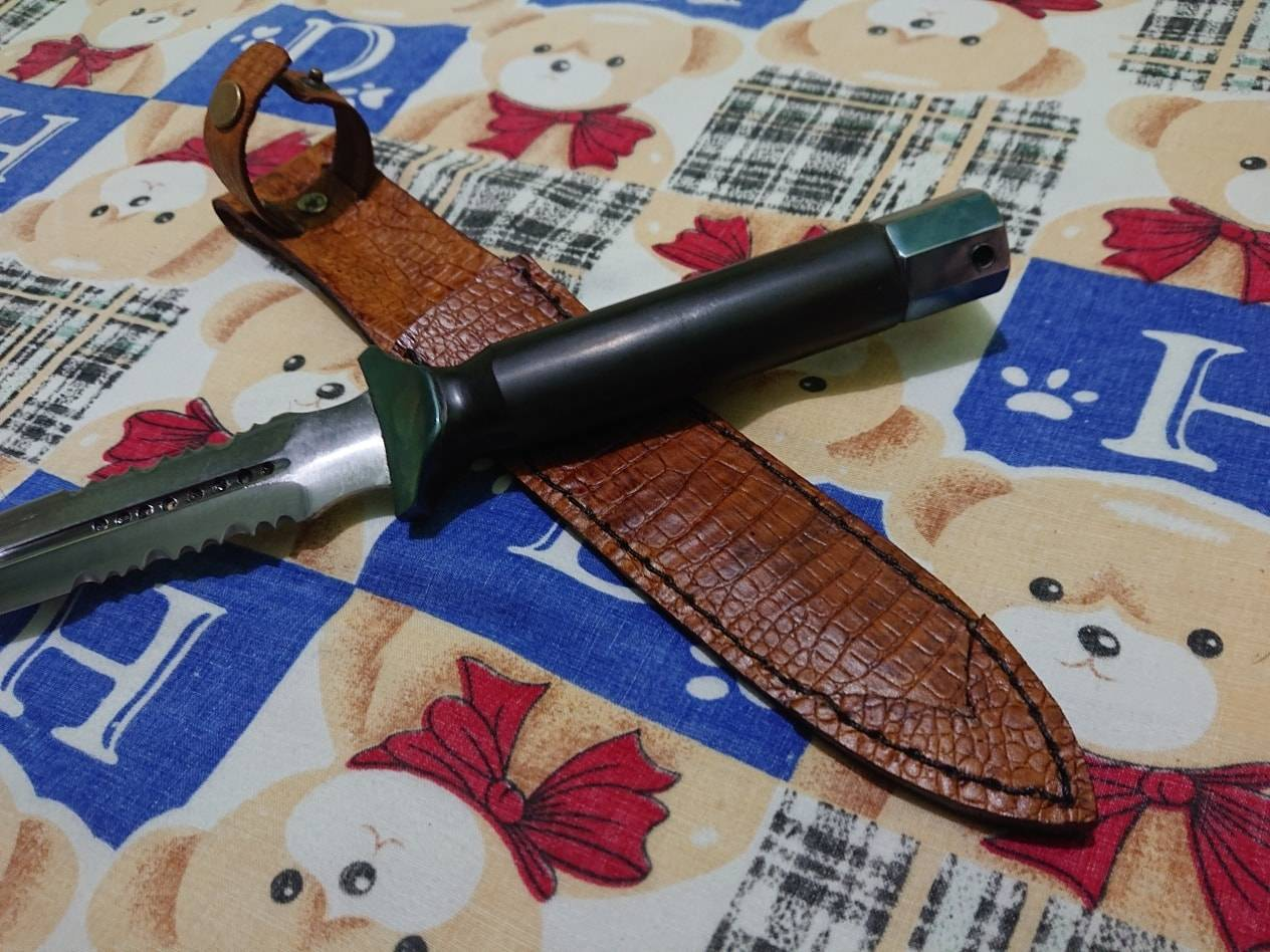 SKS Custom Made Dagger with Serration
