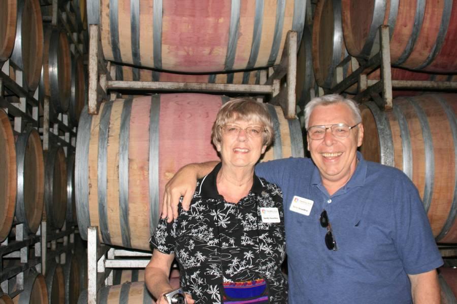 Brandy cellars Sandy & Terry