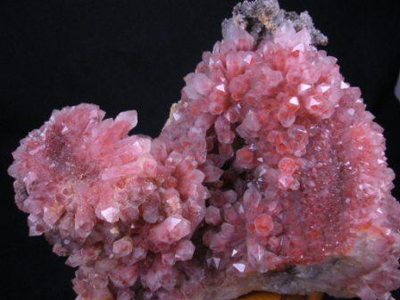 Chinese Red Phantom Crystal Cluster 09-00040