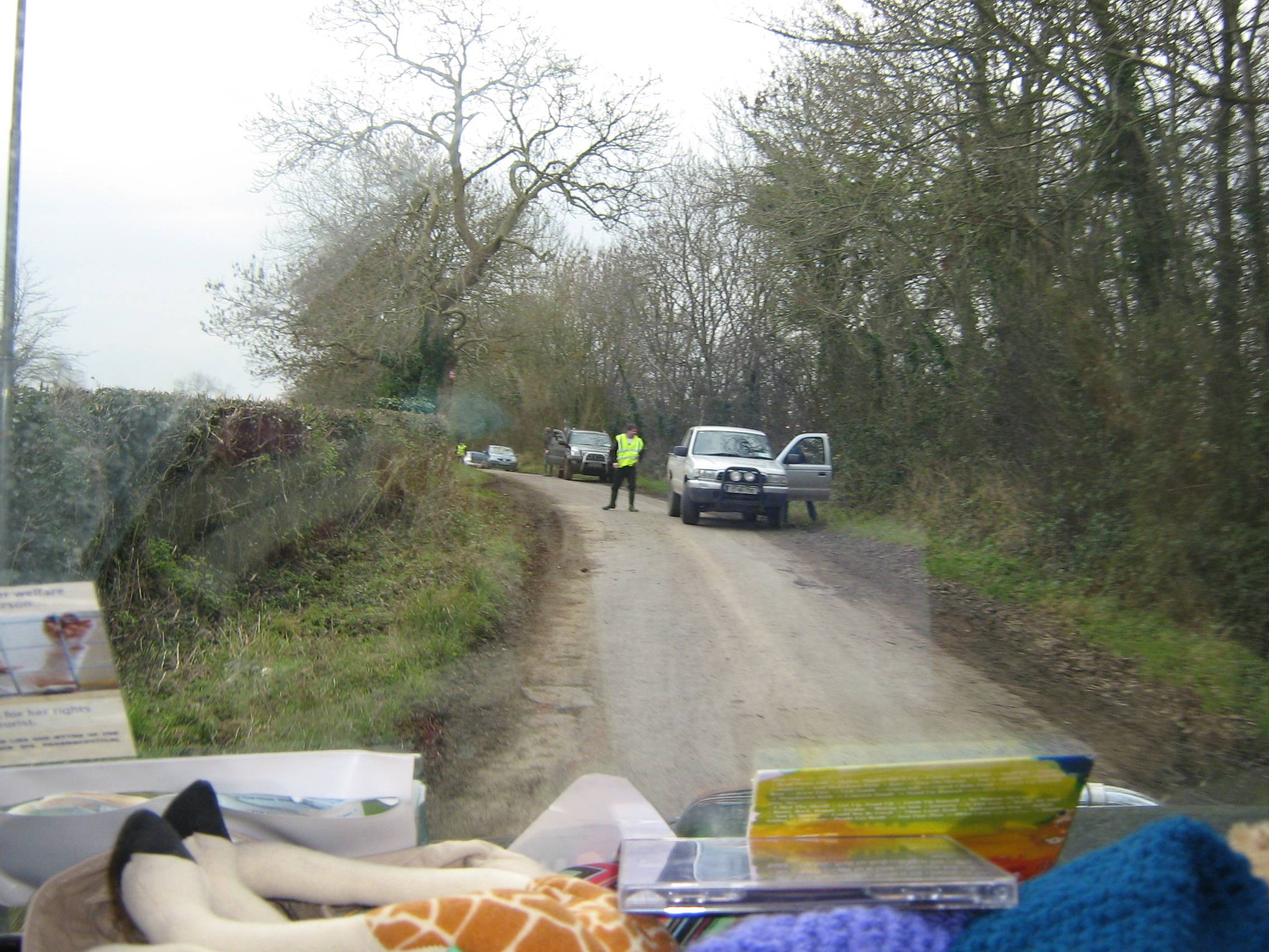 Blocking roads again