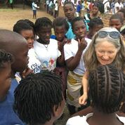Siobhan in Mozambique