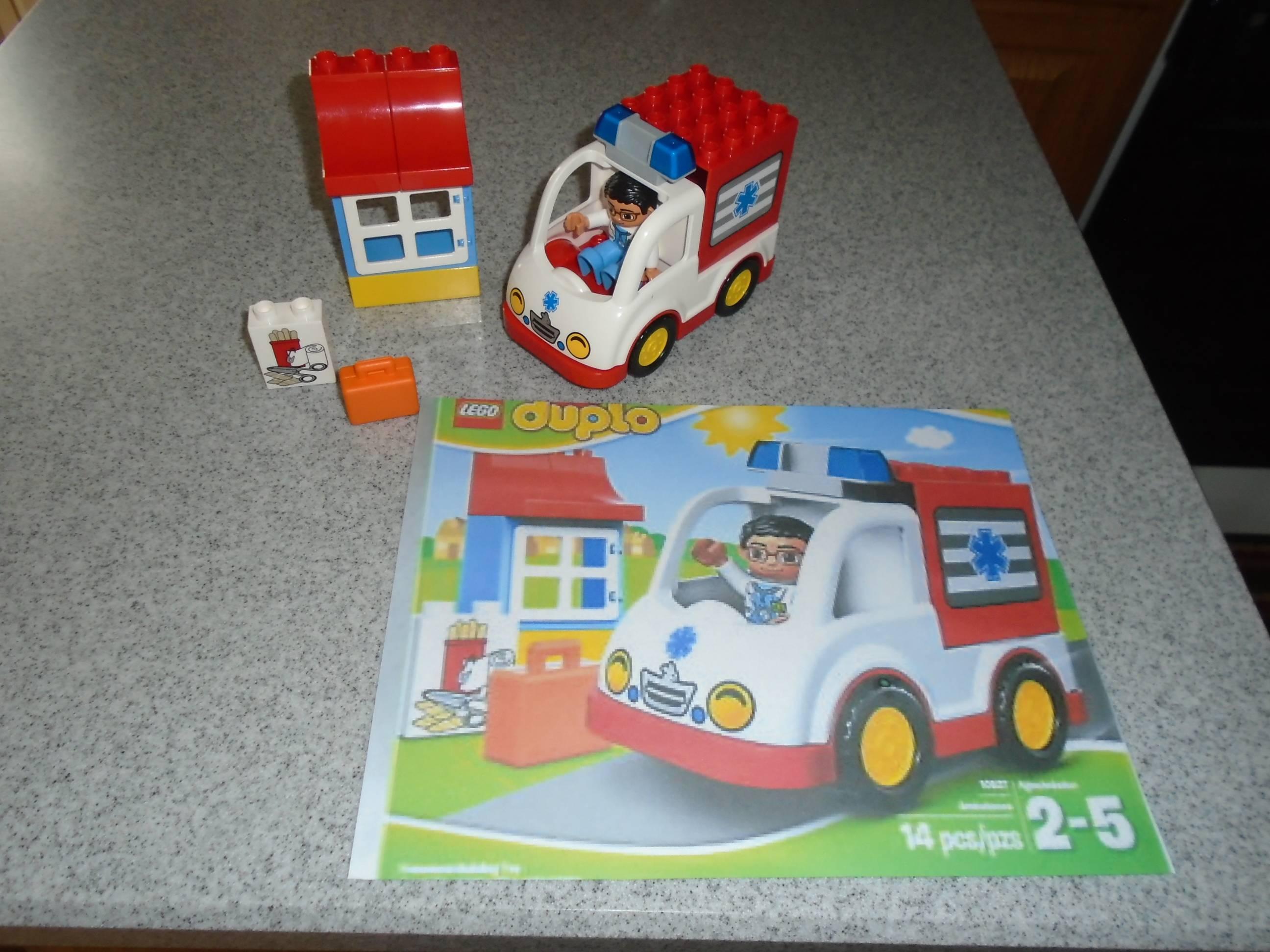 LEGO DUPLO Ville Ambulance 10527 - $15