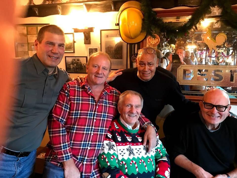Johnny Kidd, Mal Sanders,Johnny Kincaid, Lee Bronson and Frank Rimer