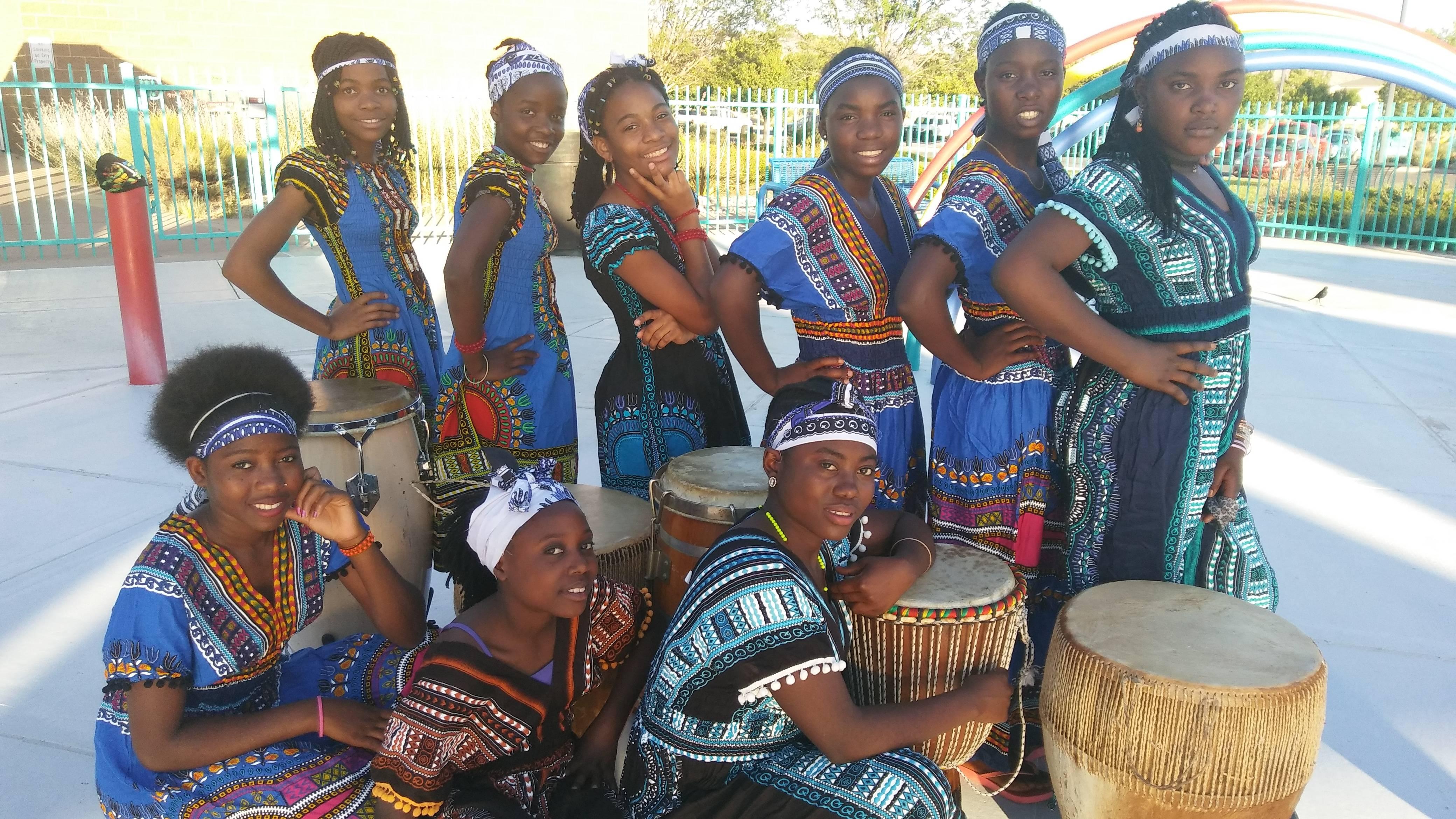 Albuquerque's Own Matunda Ya Yesu African Youth Choir