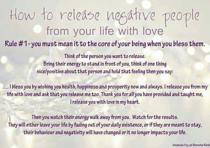 Releasing Negative