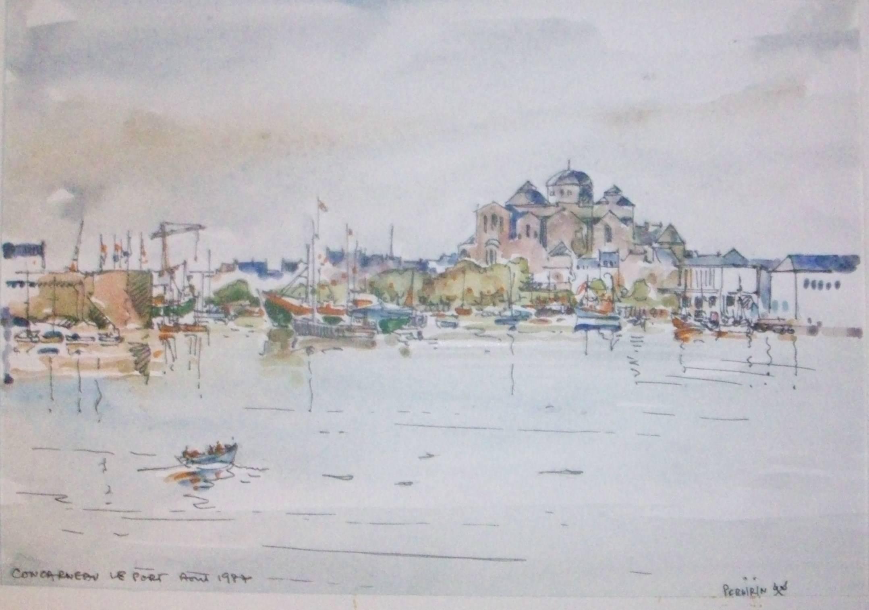 CONCARNEAU Le port
