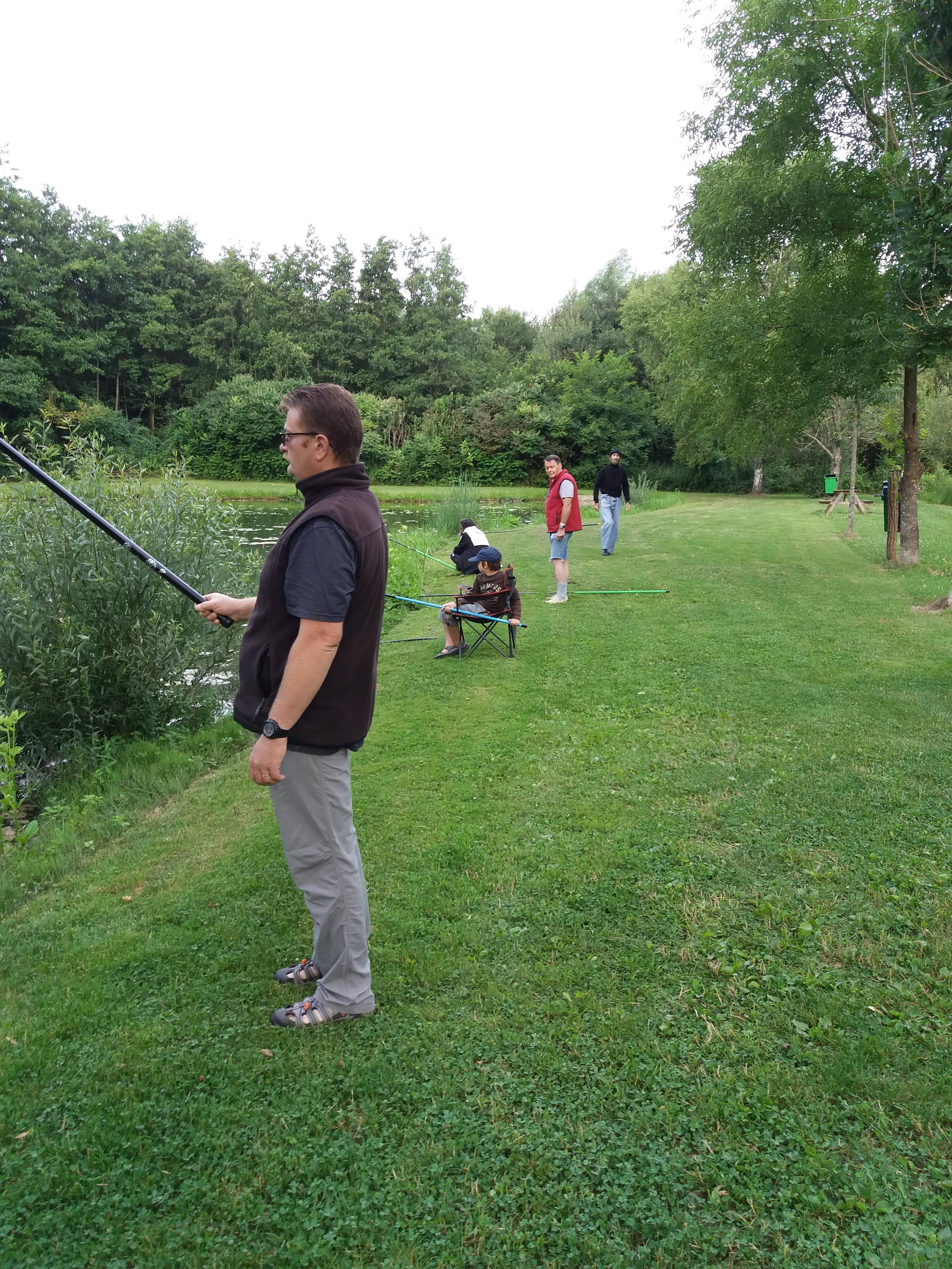 sortie 'pêche à la truite'