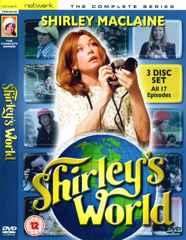 Shirley's World (Shirley Maclaine) - Complete Series DVD Set (UK reg. 2 release)
